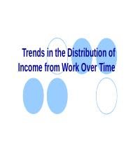 4. Trends in the Distribution of Income from Work