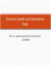 2_Economic Growth and Trade