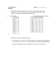 Exam 3-2 Fall 2002 on Data Structures