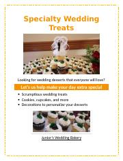 Lab 1-2 Wedding bakery flyer.docx