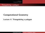 CG_PolygonTriangulation