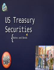 Lecture - US Treasury