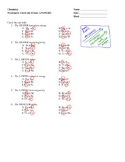 Covalent Bonding Worksheet - Key - Covalent Bonding Worksheet ...
