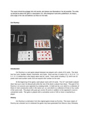 wiki assignment (gin rummy)
