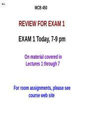 450 Exam 1 review F16 post-2