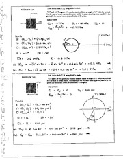 794_Mechanics Homework Mechanics of Materials Solution