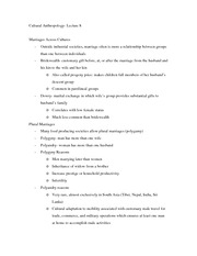 Lecture 8 notes
