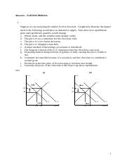 Answers ECON211 - Midterm 2014