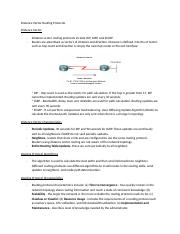 Distance Vector Routing Protocols.docx