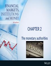 Lecture 2 Chap 2 Monetary authorities.pptx