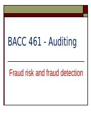 Lecture 12 Fraud risk and fraud detection.pptx