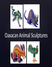 2nd  3rd Grade Oaxacan Animal Sculptures (2).ppt