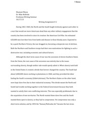 the killer angels documents course hero english gettysburg essay