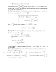 Calculus for Biology Class Notes  2