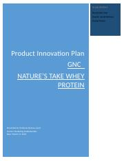 GNC-Product Innovation Report-Nature's Take.docx