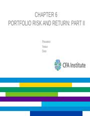 L06_investments_chapter6_Risk & Return_part II