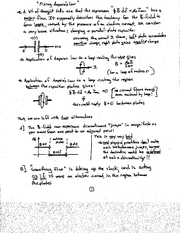 Physics notes  Maxwell's Equations
