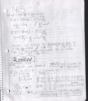 Review Notes: Planes and Vectors