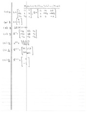 Factorization Midterm Solutions