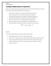 11z - Practice on Capital Budgeting - Answers