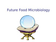 Future food microbiology