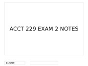 ACCT 229 Exam 2 and IT Interview project directions