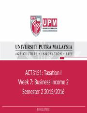Week 7_Business Income 2