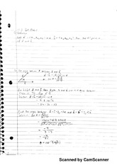 Calculus 3 dot product 12.3 notes