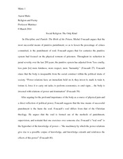 Social Structures in the Formation of Religions Essay