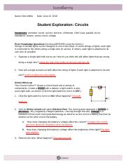 2 Form hypothesis How do you think the total resistance of ...