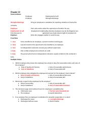 Chapter 22_law final  Business & Personal Law _REVIEW  KEY.docx