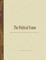 ThePoliticalFrame.ppt