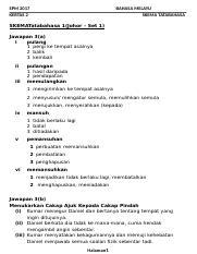 Skema Soalan 3 2017 Docx Spm 2017 Kertas 2 Bahasa Melayu Skema Tatabahasa Skematatabahasa 1 Johor U2013 Set 1 Jawapan 3 A I Pulang 1 Pergi Ke Tempat Course Hero