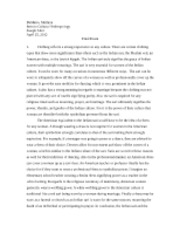 sex in anthropology essay Role, and females aren't playing their role, then their gender identity becomes  foggy, according to their personal judgment, as well as society's norms in society .