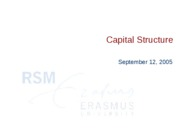 lecture2-Capital_Structure
