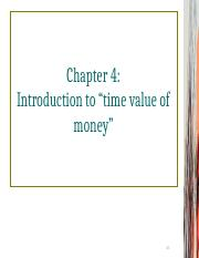 Chapter 4 - Discounted Cash Flow Valuation - Part 1 - Dr. Julio.ppt
