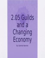2.05_Guilds_and_a_Changing_Economy_.ppt