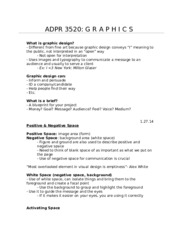 ADPR 3520 Class Notes