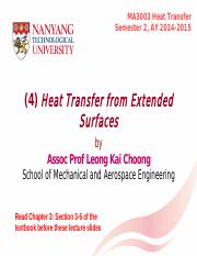 (4) Heat Transfer from Extended Surfaces S2 2014-2015(3).pdf