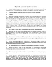 Chapter 11 Answers to Questions for Review