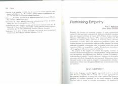 Communication and emotion. Ch5. Rethinking empathy  (1)