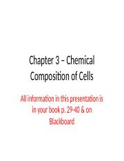 Ch. 3 - Chemical composition of cells.pptx