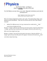 PH-1120 - Electric Field - Lab Report.docx