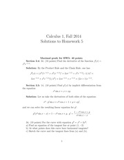 MATH 1101 Fall 2014 Homework 5 Solutions