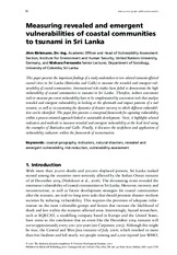 Measuring_vulnerabilities_to_tsunami_in_SriLanka-Birkmann_