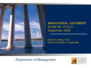 Managerial Judgment-1.ppt