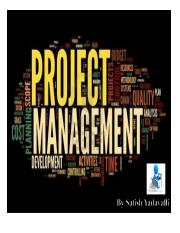 Project Management 2nd Sem 2017