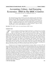 borker_2012_accounting culture and emerging economies-ifrs in the bric