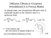 Derivation of intraparticle diffusion