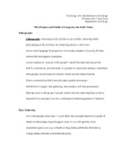 a safe society going risky sociology essay Check out a sociology essay sample that demonstrates how an academic sociology paper should be written to answer the question of whether women are less privileged in modern society than men, one needs to understand the notion of gender equality in terms of social, behavioral and cultural.
